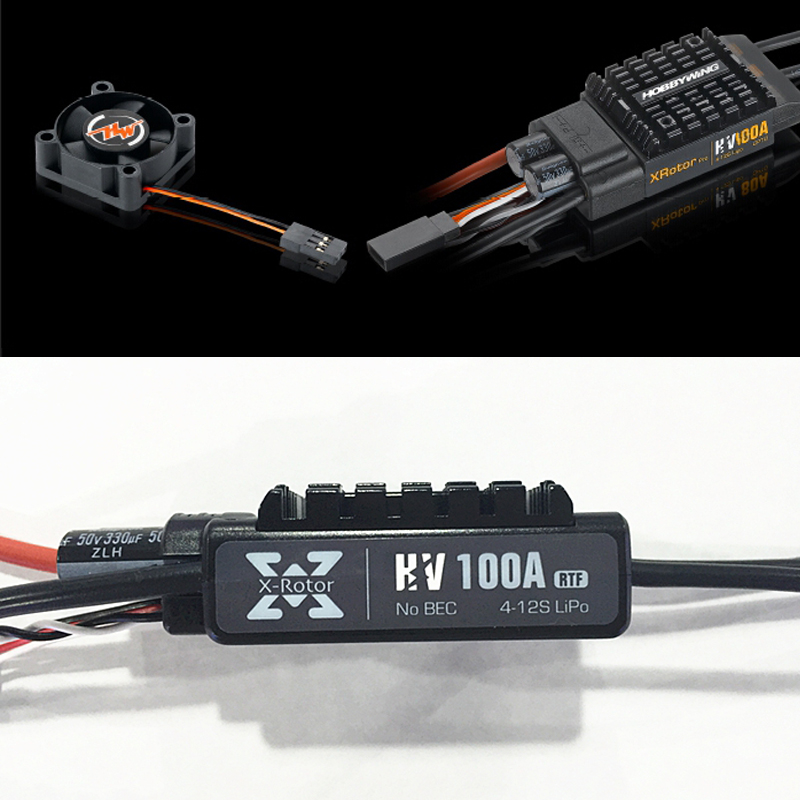1pcs Hobbywing XRotor Series 100A HV Electronic Speed Controller for Multicopters XRotor-100A-HV hetrz hv 165 l woofer
