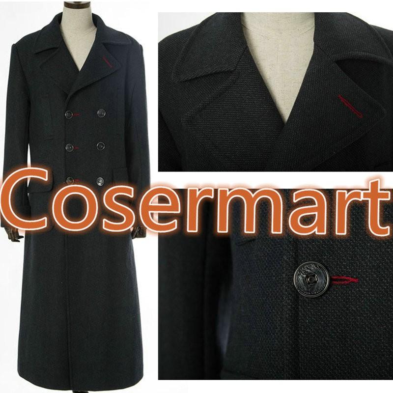 Sherlock Holmes Tv Long Wool Winter Coat Jacket Cosplay Costumes2