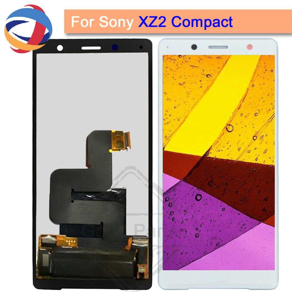 100% Tested For Sony Xperia XZ2 Compact XZ2 MINI LCD Display Touch Screen Digitizer Assembly For Sony XZ2 Mini LCD Replacement100% Tested For Sony Xperia XZ2 Compact XZ2 MINI LCD Display Touch Screen Digitizer Assembly For Sony XZ2 Mini LCD Replacement