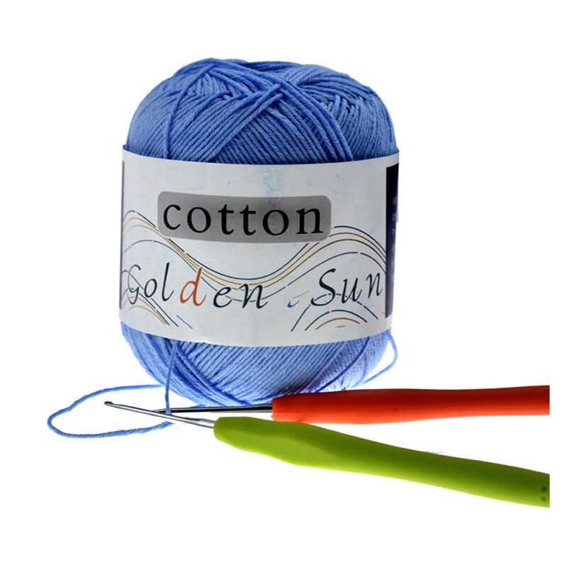 6 Pcs lot Looen Yarn Knitting Ball 100 Cotton Warm DIY Baby Yarn for Knitting Yarn Weave Thread For Women Mom Gift in Yarn from Home Garden