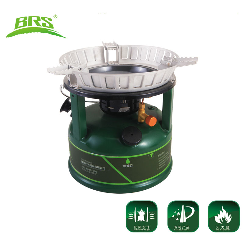 BRS-7 New Oil Stove Camping Cooker Titanium Estufa Para Camping Outdoor Stove Cooking Stove Superpower Petrol Diesel Kerosene brs titan oil stove cooking food cooker camping oil furnace outdoor cookware brs 7