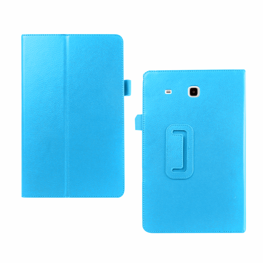 2017 New Arrival Protective Smart Stand Cover Flip PU Leather 9.6 Inch Tablet Cover For Samsung Tab E 9.6 T560 T561 Case Cover