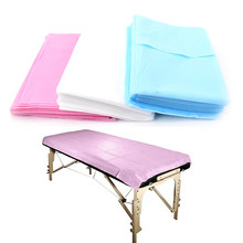 10 Pcs Massage Beauty Waterproof Disposable SPA Bedsheet Beauty Salon Bed Table Cover Sheet Non-Woven Bedsheet 180x 80cm(China)
