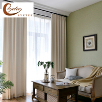 [byetee] Chenille Kitchen Door Window Curtain Curtains For Cloth Bedroom Living Room Blackout Curtains Fabric Curtains Drapes