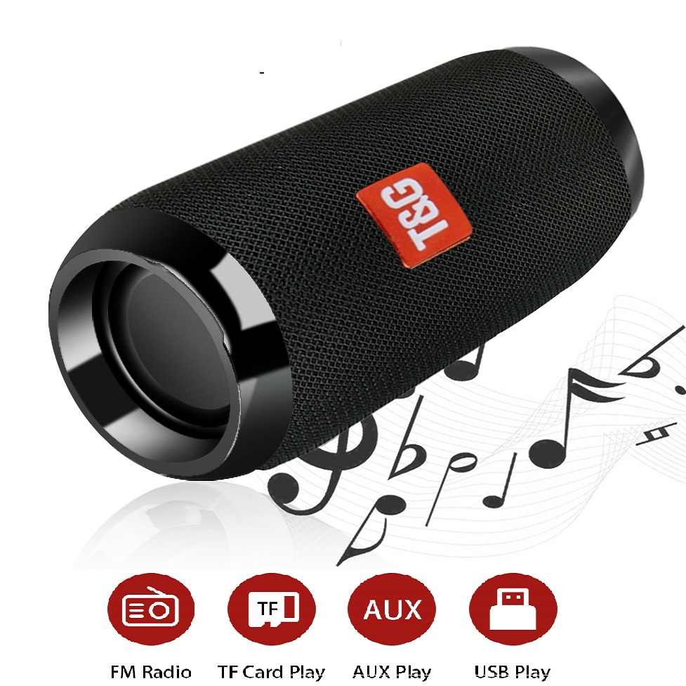 TOPROAD портативный Bluetooth динамик 10 Вт Беспроводная стерео Колонка Открытый водонепроницаемый HIFI динамик s поддержка TF FM радио AUX с микрофоном