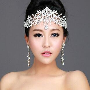 Άγγελος Rhinestone Γάμος Αξεσουάρ Μαλλιών - Κοσμήματα μόδας - Φωτογραφία 2