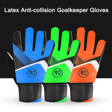 Newly 1 Pair Full Finger Gloves Children Teens Anti Slip Hands Wrap for Football Goalkeeper 19ing
