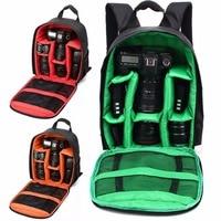Aggiornamento Impermeabile Antiurto Anti-furto Unisex Digital SLR DSLR Camera Bag Imbottita Morbida Zaino Adatto Per Canon Per Nikon