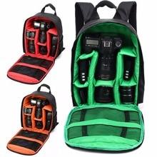 Buy online Upgrade Waterproof Shockproof Anti-theft Unisex Digital SLR DSLR Camera Bag Soft Padded Backpack Suitable For Canon For Nikon