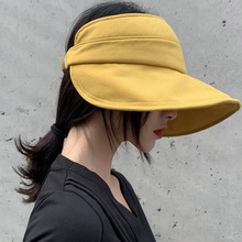 Summer Fashion sun hat Unisex Open-top Sun Hat Cap Ultraviolet Light Resistant Wide Brim