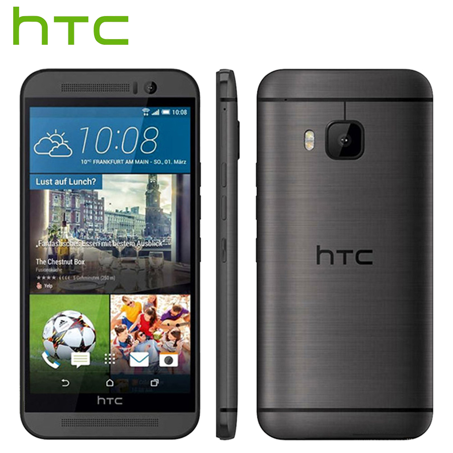 Original HTC One M9 4G LTE Mobile Phone 5.0 inch 3GB RAM 32GB ROM Octa Core 1920x1080 20.0MP 2840mAh Android Smart Phone image
