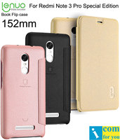Lenuo Book Leather Flip Case Cover For Xiaomi Redmi Note 3 Pro Special Edition 152mm Global