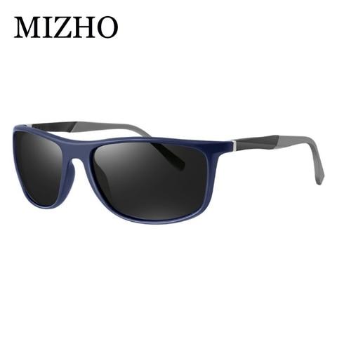 MIZHO 18g Ultralight Aluminum Leg UVA Polaroid Sunglasses Men Vintage Eyewear Accessories Brand Polarized Sunglasses Women 2019 Lahore