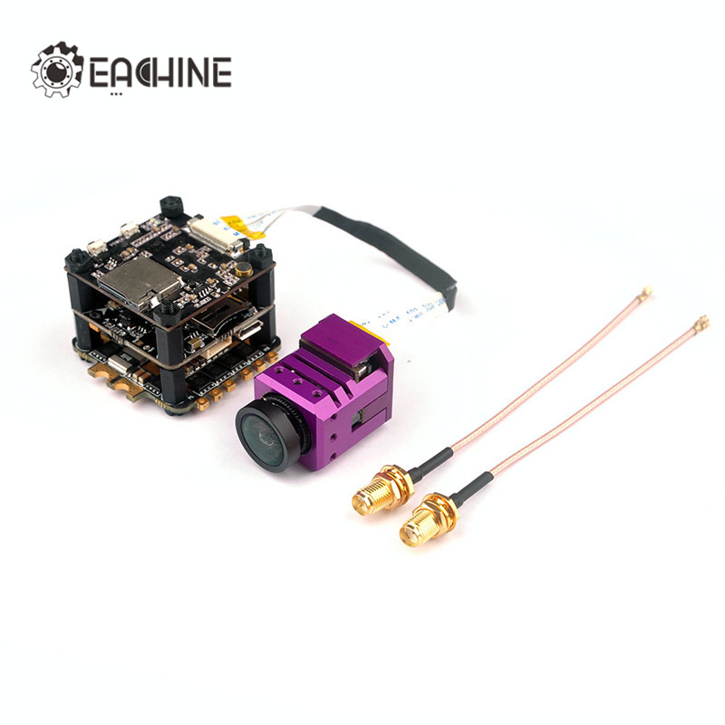 Eachine Stack-X F4 Flytower F4 Flight Controller Built-in VTX OSD 1080P DVR 4 In 1 35A Dshot600 ESC For Multirotor Parts original emax f4 magnum all in one fpv stack tower system f4 osd 4 in 1 blheli s 30a esc vtx frsky xm rx
