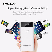 Pisen 20000mAh Power Bank Universal For Samsung S8 Plus For IPhone 7 7 Plus 5s For