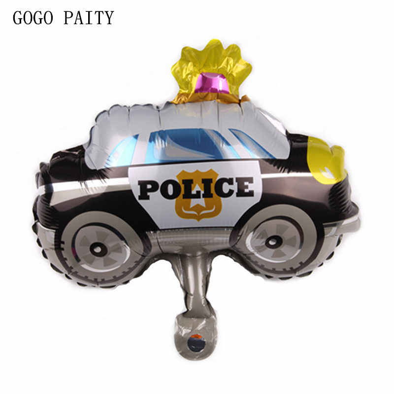 GOGO PAITY   New Mini  Car Shaped Aluminum Balloons Festive atmosphere decorated with decorative balloons