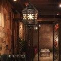 Bohemia Pendant Lamp Bedroom Hallway Restaurant Southeast Asia Coffee Lighting Crystal Color LED Pendant Lights