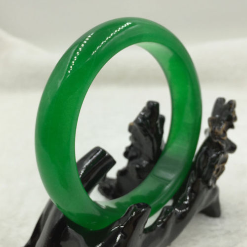 Chinese Natural Nephrite Green JADE Bangle Bracelet style Fine jewe Noble 100% Natural JADEChinese Natural Nephrite Green JADE Bangle Bracelet style Fine jewe Noble 100% Natural JADE