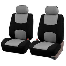 9pcs/set Sedan Seat Cover Mesh Polyester Wearproof Breathable for all Seasons 5seats