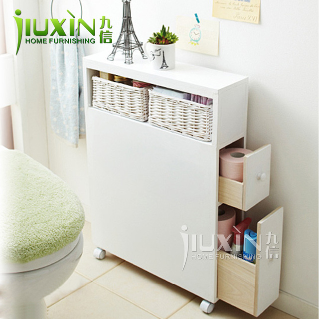 Furniture Toilet Combination Side Cabinet Bathroom Pumping Storage Floor