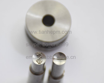 D logo stamp Customized mould / die set/punch for tablet press machine TDP0 TDP1.5 TDP5 mold of candy press machine