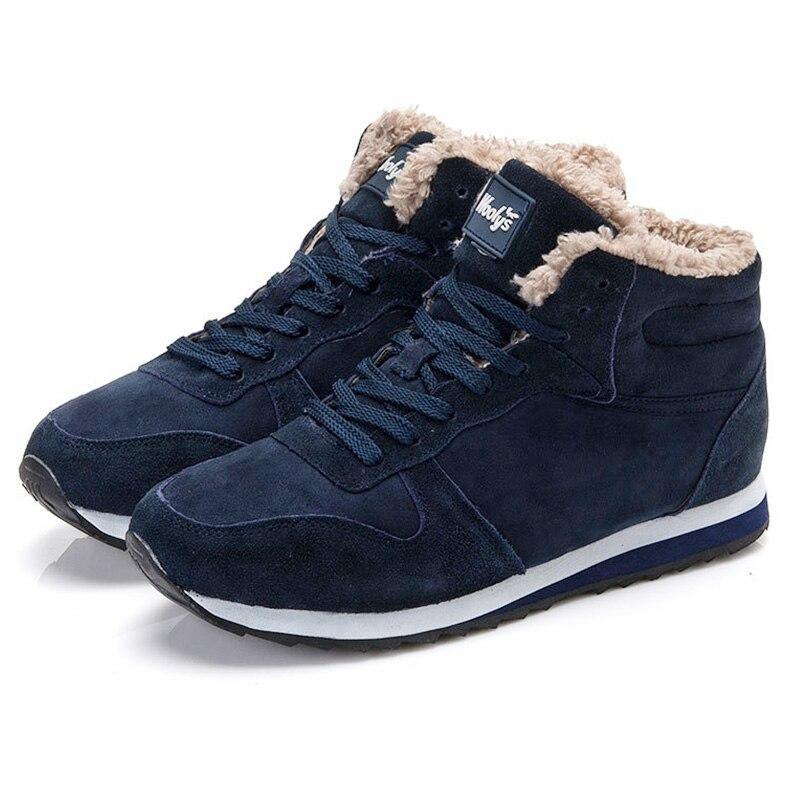 Женские ботинки женская зимняя обувь Ботильоны снегоступах Сапоги и ботинки для девочек Спортивная обувь плюс Размеры черный