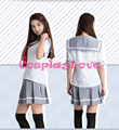 2016 Stock Lovelive Sunshine!! Sailor Suit Aqours School Uniform Cosplay Costume From Love Live Cosplay
