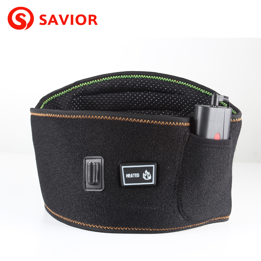 SAVIOR winter use electric heating Waist Support Far-infrared 3 levels control Breathable fabric for old people and women passages 2ed all levels interchange 3ed passages 2ed dx2