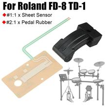 Drum Accessories Sheet Sensor Pedal Rubber Actuator Fits For Roland FD-8 TD-1 Hi Hat Pedal Rubber Part roland td 11kv