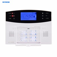 433MHz Wireless Wired GSM SMS TEXT Dial Security Alarm System Auto Dial Defense Zone For Garage