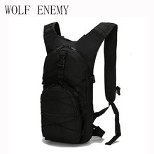 Millitary Water Bag 15L Tactical Backpack + 2.5L TPU Hydration Bladder Rucksack Mochila Camping Backpack Sport Hiking Men's Bags