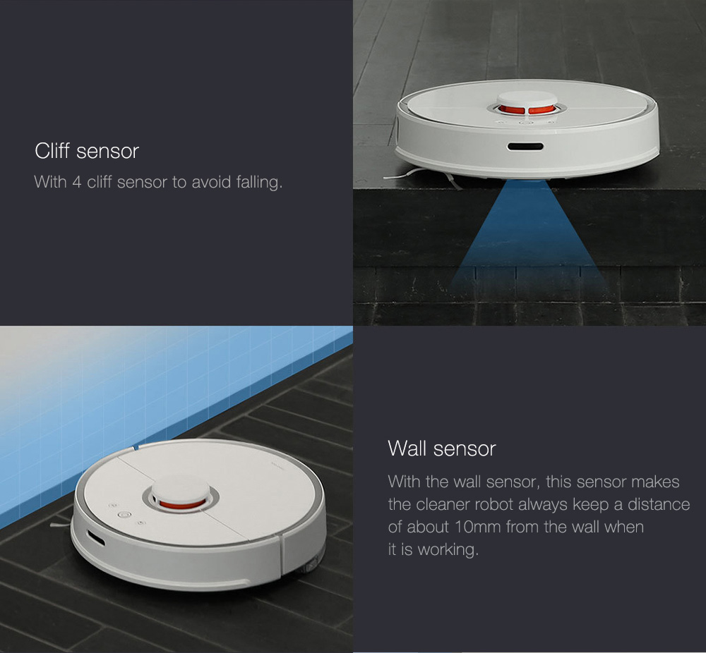 INTERNATIONAL VERSION XIAOMI MIJIA ROBOROCK VACUUM CLEANER 2 AUTOMATIC AREA CLEANING 2000PA SUCTION 2 IN 1 SWEEPING MOPPING FUNCTION 256393 20