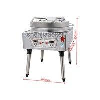 Коммерческий Электрический противень электрические сковородки блинницы машина двухсторонний нагрев соуса блинницы 220 V/380 V