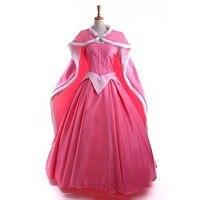 Sleeping Beauty Princess Aurora Dress + Cloak Cosplay Costume