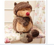 stuffed animal 80cm hedgehog plush toy cute doll Creative pillow gift w2764