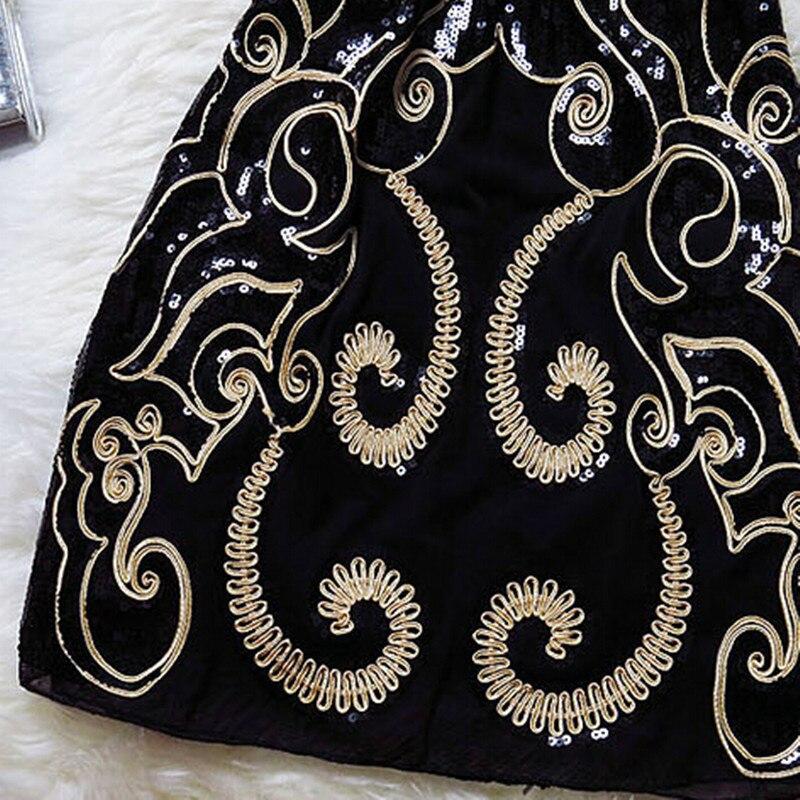 Вышивка блесток размера плюс сексуальные винтажные Элегантные дешевые короткие женские черные летние Коктейльные платья Coctail платье платья для вечеринок