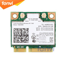 Fenvi Dual Band Wireless Wifi Card For Intel AC7260 7260HMW ac Mini PCI E 2 4G