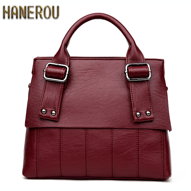 b6183e968f 2017 New Women Handbag PU Leather Shoulder Bag Fashion Women Bag Luxury  Brand Casual Ladies Handbags