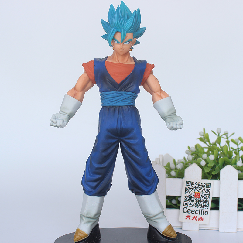 Anime Drogon Ball Super SSGSS Vegetto Super Saiyan Blue Vegeta and Kakarotto Warriors PVC Collection Model Figure 100% original banpresto dxf the super warriors vol 3 collection figure super saiyan god ss vegetto from dragon ball super