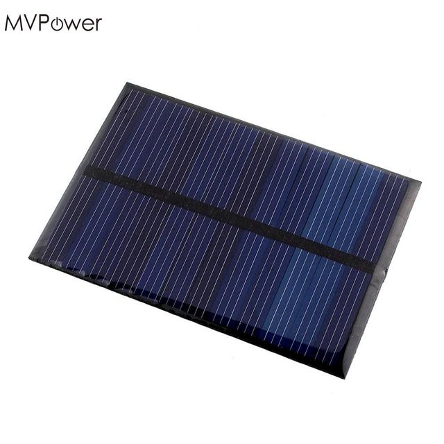 MVPower 6V 0.6W Solar Power Panel Poly Module DIY Small Cell Charger For Light Battery Phone Toy Portable Drop Shipping