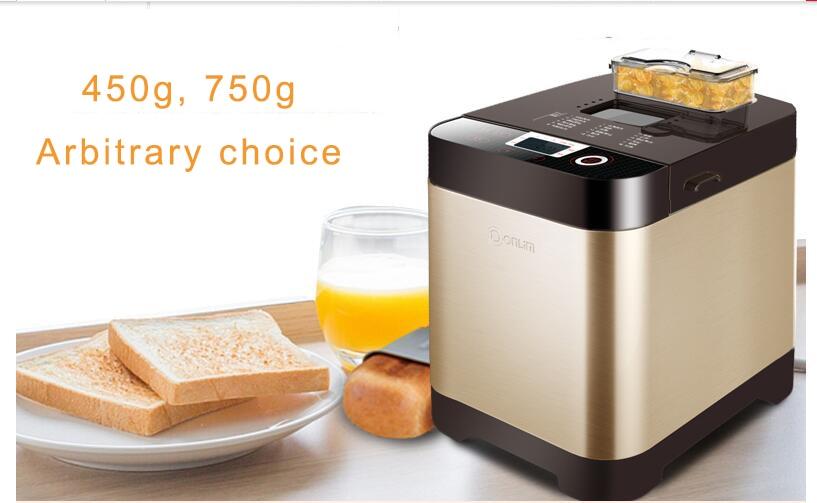 Intelligent cuisson machine à pain grille-pain automatique hosehold Machine À Pain gâteau machine de fabrication de yaourts pétrisseur