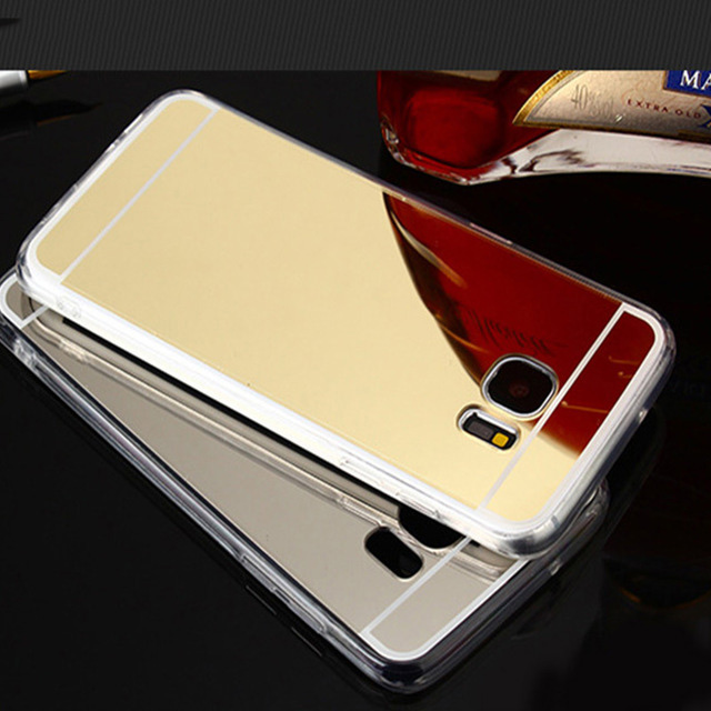 Mirror Case For Samsung Galaxy J7 Neo Nxt Core J5 Prime J3 Pro J1 A3 A5 A7 A8 2015 2016 2017 A8 Plus 2018 Cell Phone Back Cover image