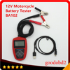 BA102 Motorcycle Battery Tester LCD Display 12V Battery Life Analysis Battery Analyzer