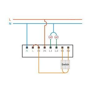 Image 2 - Módulo de Control de vía de dos vías Original Aqara, controlador de Relé inalámbrico de 2 canales para aplicación Mijia y Kit de casa