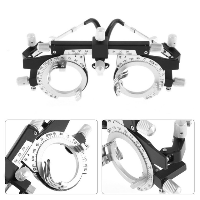 0477833e2f73 Adjustable Eye Optometry Metal Frame Optical Optic Professional Optician  Eyewear Trial Lens Frame Optometrist Instruments