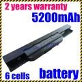 Jigu k53u nueva 6 celdas de batería para portátil asus a53sk k53sj x43sv A53SV K53SK X43TA A53TA K53T X43U A43 A53Z K53U A43B X43 K43