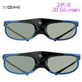 2PCS Hi-Quality XGIMI Virtual Reality 3D Glasses Shutter LCD Glass Wide Angle High Luminousness Internal Battery AD0078