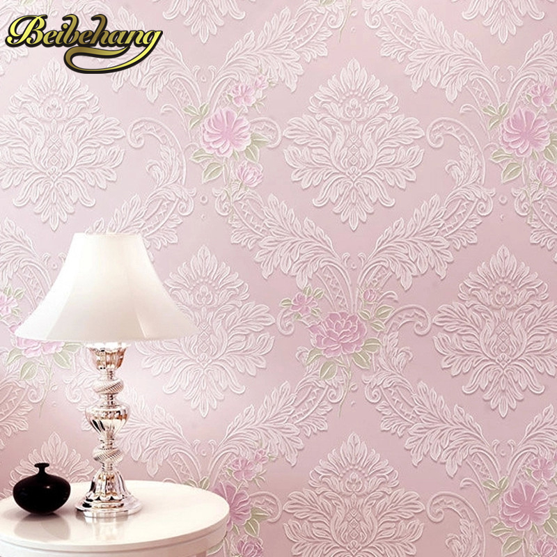 beibehang flowers damask wallpaper roll flocking wall paper papel de parede 3d wallpaper for living room bedroom contact paper beibehang modern deer skin floral flowers papel de parede 3d wallpaper for living room bedroom wall paper roll papel contact
