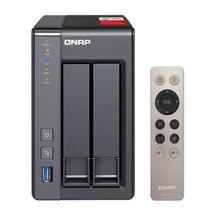 QNAP nas TS-251+ 2-bay diskless nas, nas сервер nfs Сетевое хранилище Облачное хранилище, 2 года гарантии