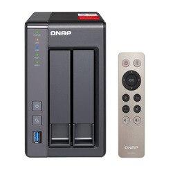 QNAP nas TS-251 + 2-bay diskless nas, nas сервер nfs Сетевое хранилище Облачное хранилище, 2 года гарантии